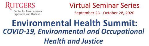Virtual Seminar Series – Fall 2020