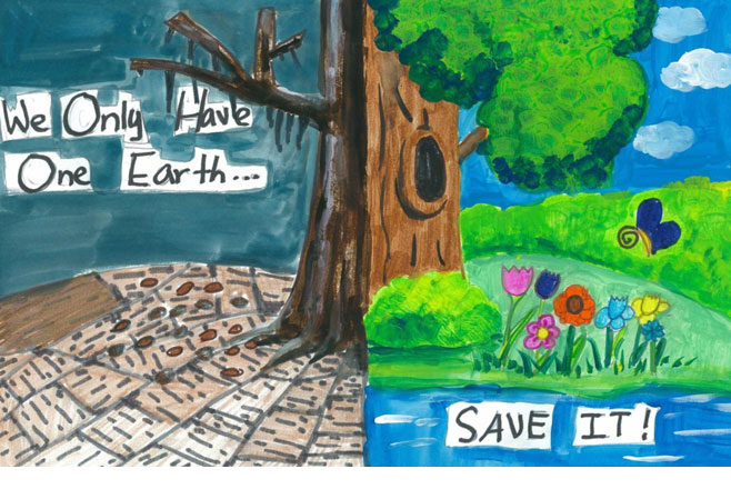 Earth Day Poster Competition 2010